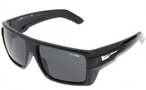 arnette heavy hitter gloss black sunglasses