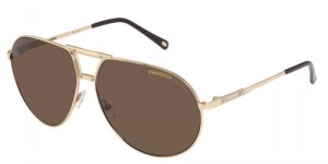 carrera turbo s gold bronze polarized sunglasses