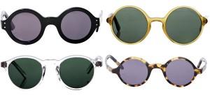 round shape sunglasses