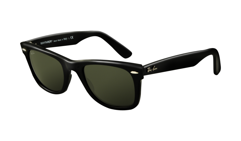 Ray Ban Wayfarer Gold And Black