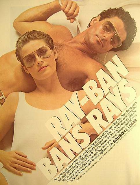 ray ban retro sunglasses ad