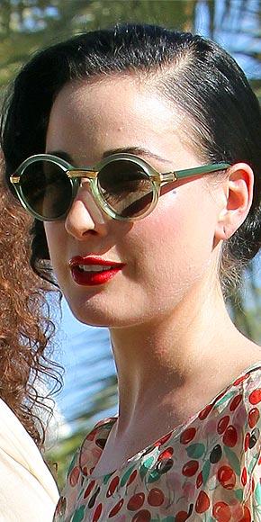 round style sunglasses