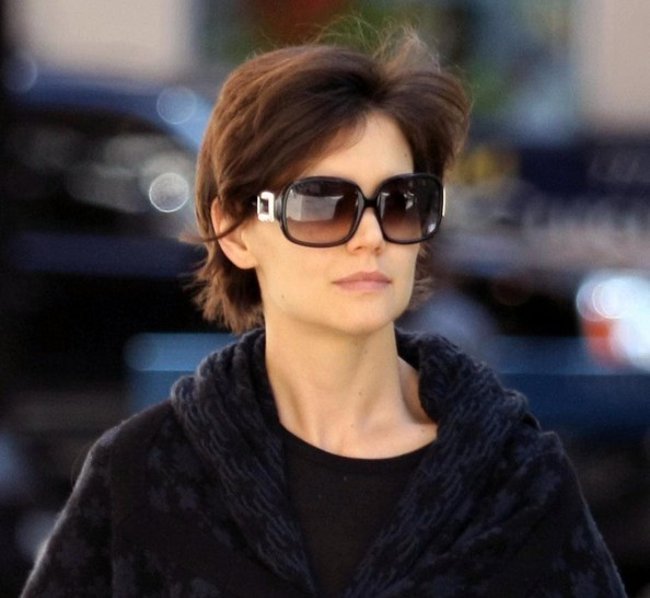 katie holmes sunglasses square oversized sunglasses