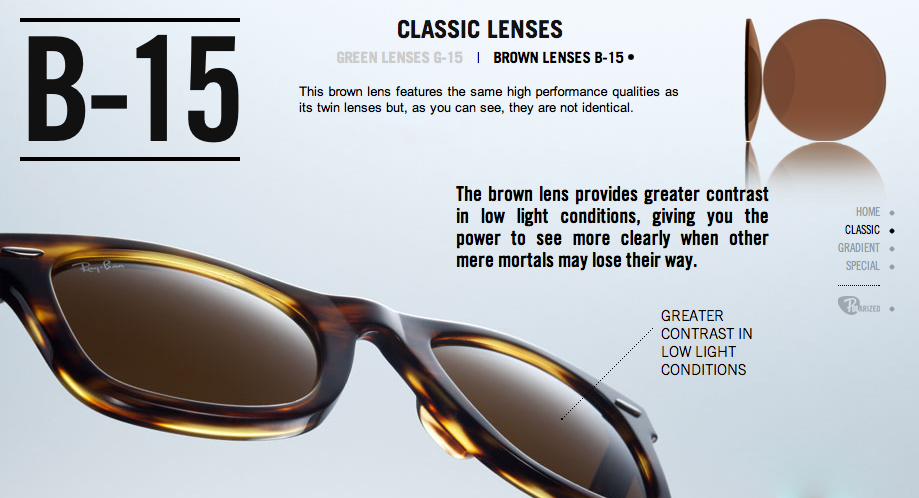 g 15 xlt lenses ray ban sunglasses  the