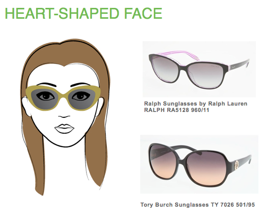 Best Glasses Frame For Face Shape : Best Frame Shape Glasses for Heart Shaped Face
