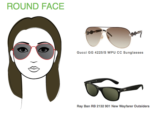 What Is The Best Eyeglass Frame For A Round Face : What Are The Best Fitting Sunglasses for a Round Face ...
