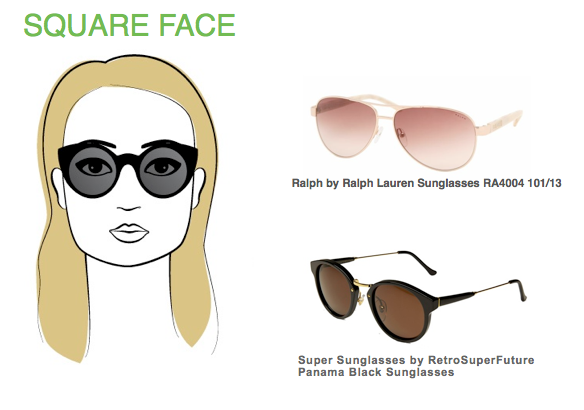 Sunglasses Shape For Square Face : Gallery For > Sunglasses For Square Faces