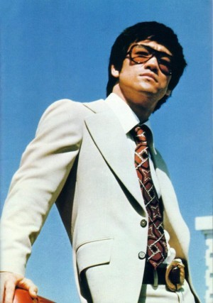 bruce lee suit sunglasses