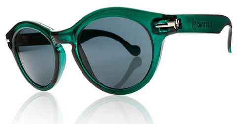 electric potion green sunglasses