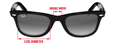How Do I Know What Glasses Frame Size I Am : What Ray-Ban Size Am I? Sunglasses and Style Blog ...