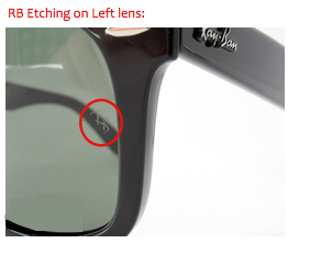 how to tell if sunglasses are real ray bans  while