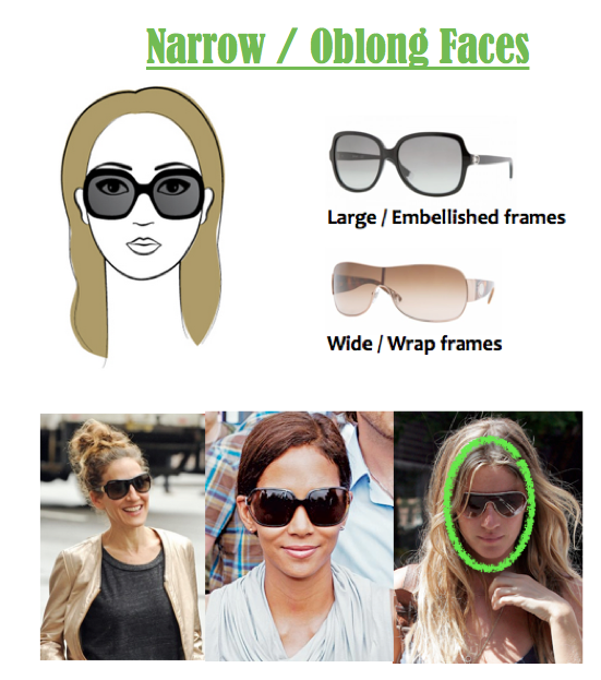Glasses Frames For Long Narrow Faces : What Are The Best Sunglasses for a Narrow Face ...