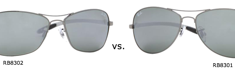ray ban for women  Comparing Ray-Ban RB 8301 vs. RB 8302