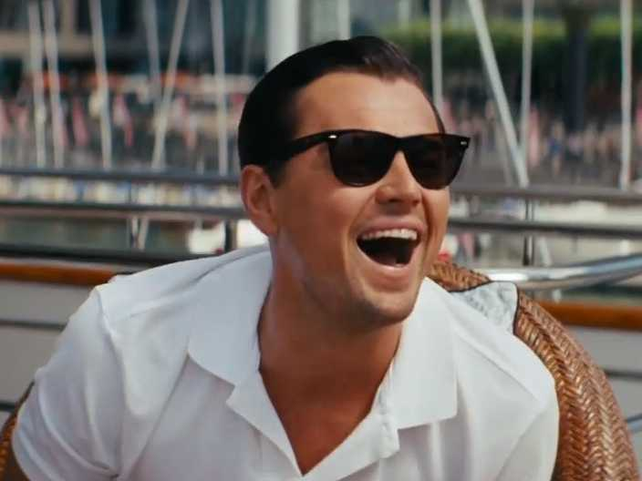 leonardo dicaprio wolf of wall street sunglasses