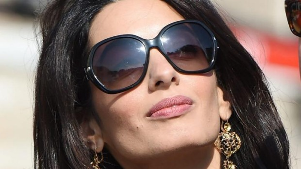 What Sunglasses Does Amal Clooney Wear Sunglasses And