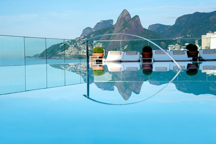 hotel fasano infinity pool