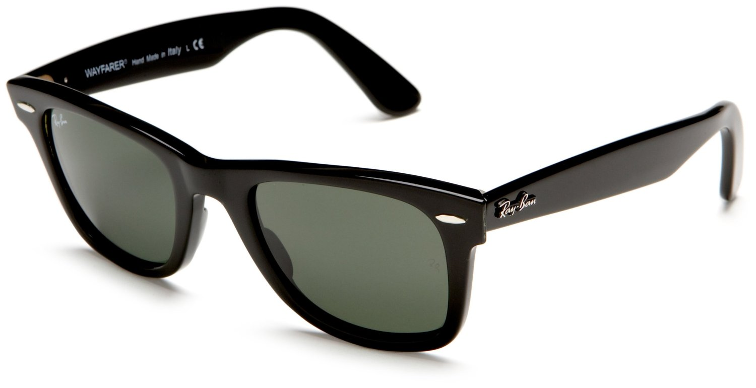 ray ban classic wayfarer black  What Are The Best Ray-Bans for Round Face?