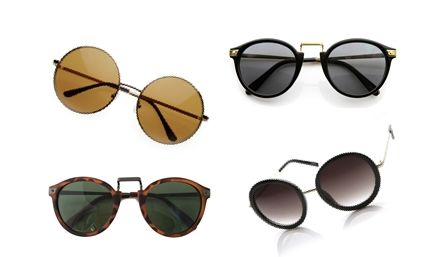 ROUND SUNGLASSES UNDER $30