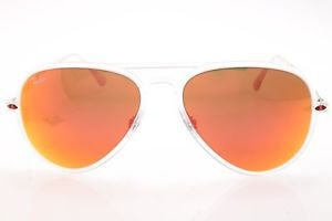 Ray-Ban Lightray sunglasses in ClearOrange
