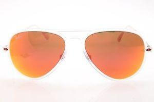 Ray-Ban Lightray sunglasses in ClearOrange