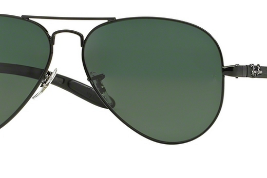 ray-ban carbon fibre aviator