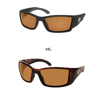 ray ban sunglasses vs. oakley  costa del mar blackfin vs. costa del mar corbina sunglasses