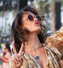 Alessandra Ambrosio Sunglasses Coachella 2016