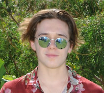 Brooklyn Beckham in round Ray-Ban sunglasses Coahella Sunglasses 2016