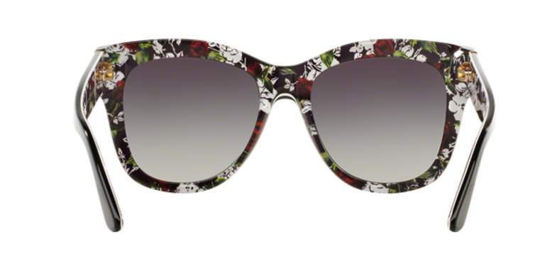 Dolce Gabbana DG4270 Top Black 30218G Sunglasses Back
