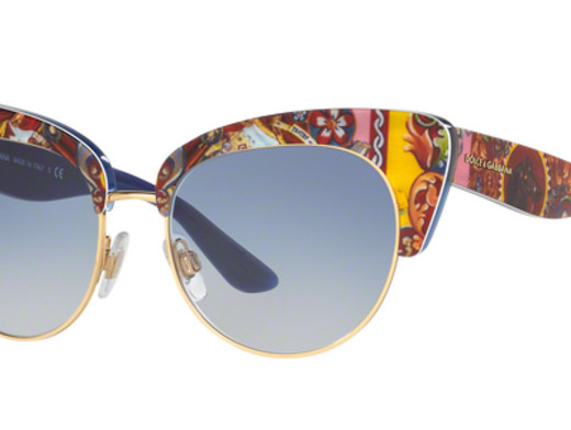 Dolce Gabbana DG4277 Blue Art Sunglasses