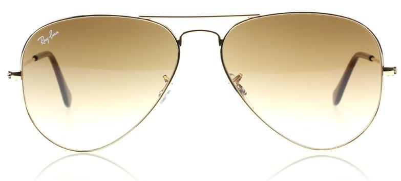 Ray Ban Aviator Sunglasses RB 3025 001/51