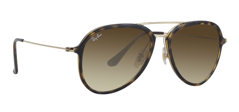 Ray Ban RB4298 Tortoise Gold / Brown Lens Sunglasses